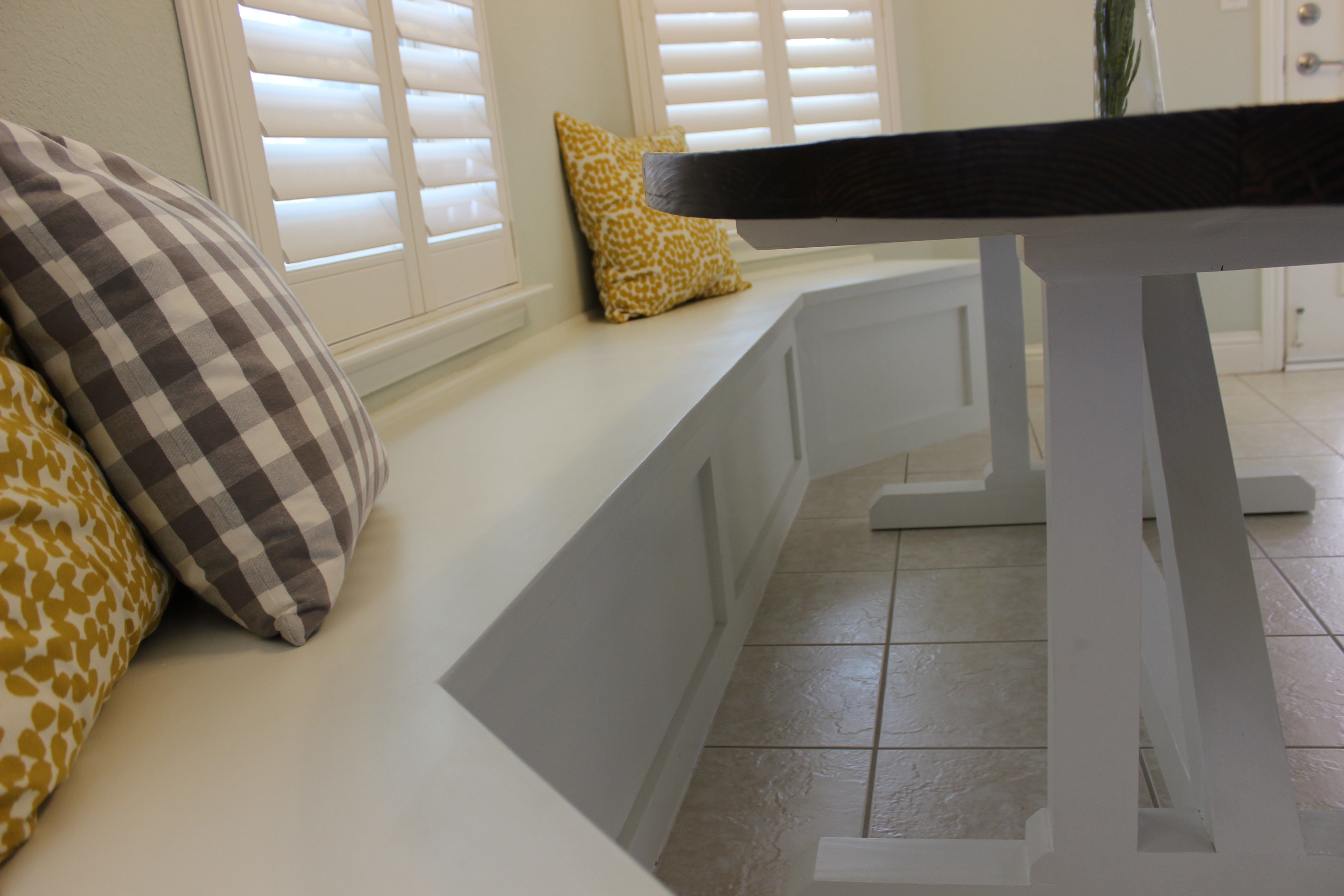 How To Build Banquette Bench Seating Gadgets And Grain