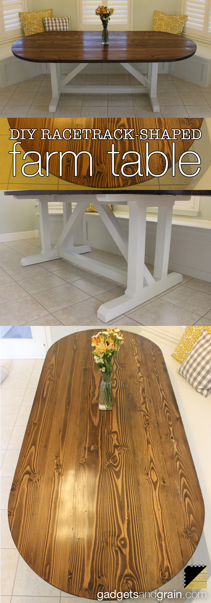 various views of the dining table