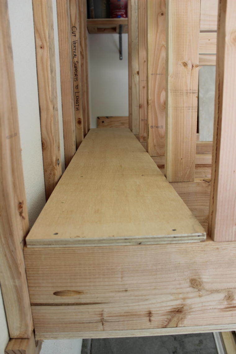 Innovative Diy Wall Mount Lumber Rack For Boards And Sheet