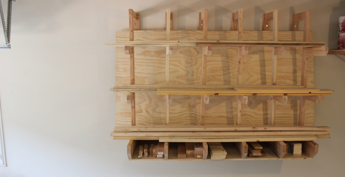 """Build Your Own Lumber Rack """"Mullet Style"""""""