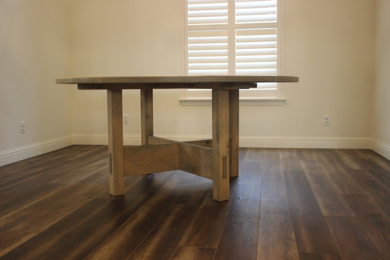 round table in empty room