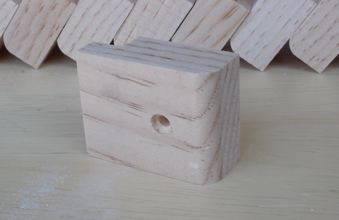wooden table fastener